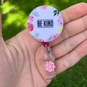 Be Kind Badge Holder